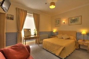 Double bedroom at Fairlawn House Hotel Salisbury