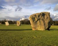 Avebury stone circle - photo taken by Colin Eric on 21st October 2007